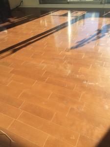 【シリコン】栃木県宇都宮市 ポレスターセントラルシティ桜 天然木フローリング 施工前