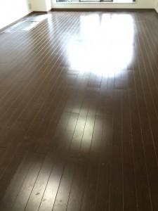 【シリコン】神奈川県川崎市高津区 天然木フローリング 施工前